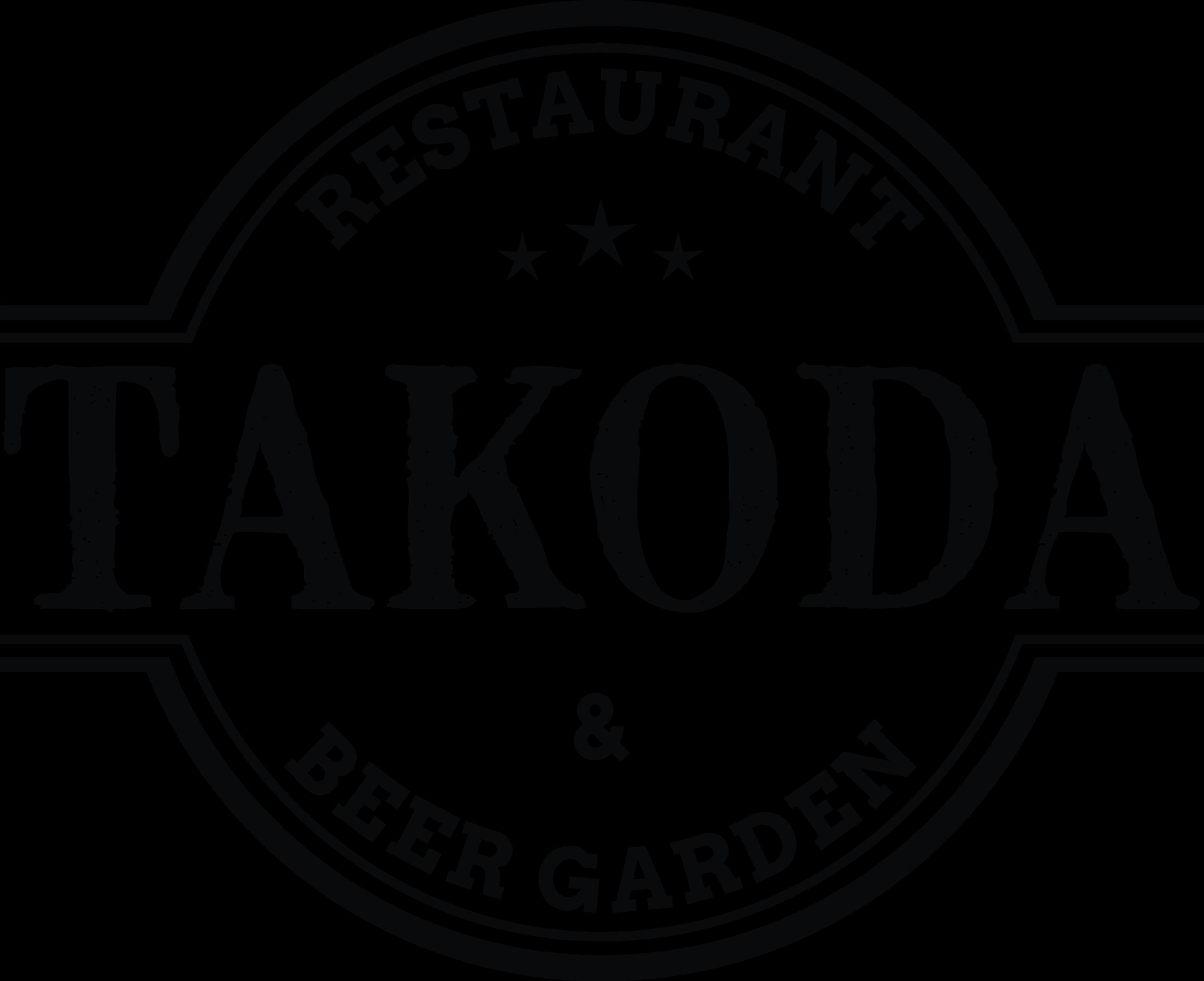 TAKODA Resturant & Beer Garden Logo